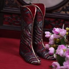 74 Male Zhou Shi Xian ancient style boots